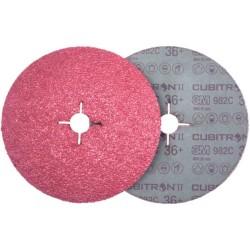 3M 987C Cubitron II 127 P80 fiber discs