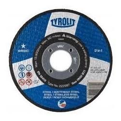 Tyrolit Basic 125x1.6 2in1...