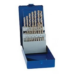 HSS-Co5 spiral drill set...