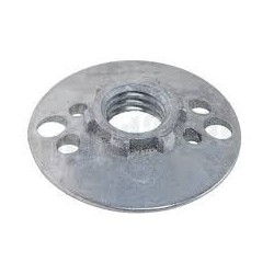 Round nut with flange...