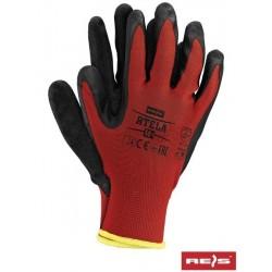 RTELA work gloves red-gray 11